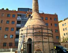 Acaba la 1º fase d'intervenció als forns d'ampolla de 'La Rajoleta'