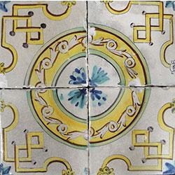 Colección de azulejos seriados Santiago Albertí