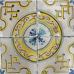 Collection of sample tiles by Santiago Albertí