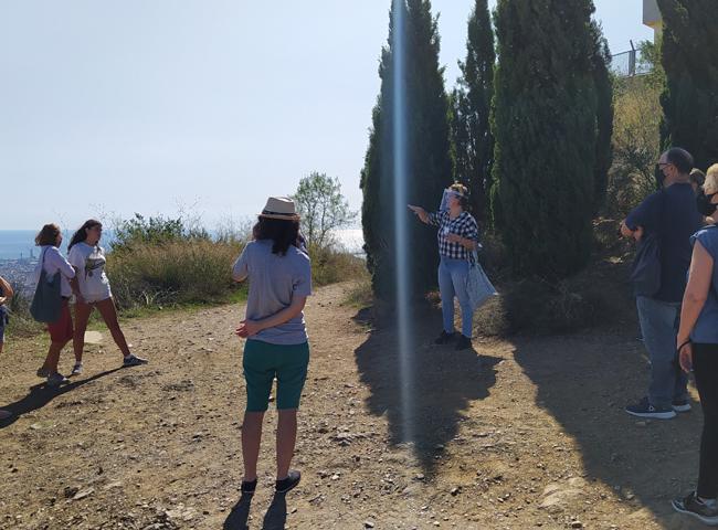 Itinerari guiat a Sant Pere Màrtir