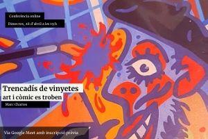 Trencadís de vinyetes; art i còmic es troben.