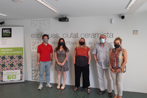 Arrenca la 20 Biennal de Ceràmica d'Esplugues amb la selecció de peces a concurs